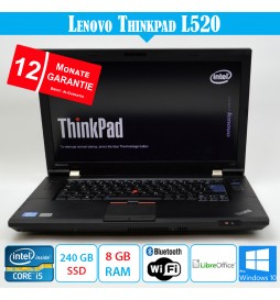 Lenovo ThinkPad L520 - 8 GB...