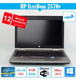 HP EliteBook 2570p - 8 GB...