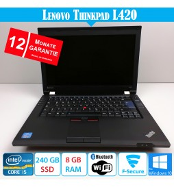 Lenovo ThinkPad L420 - 8 GB...